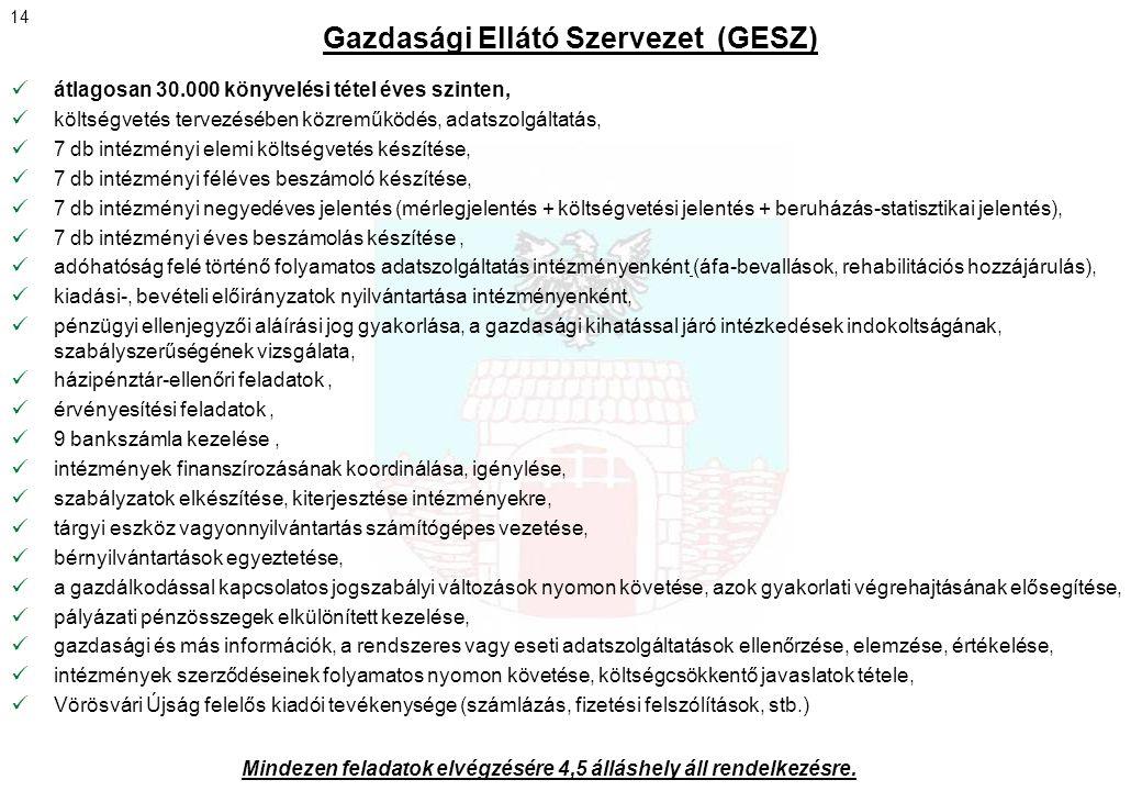 Gazdasági Ellátó Szervezet (GESZ)