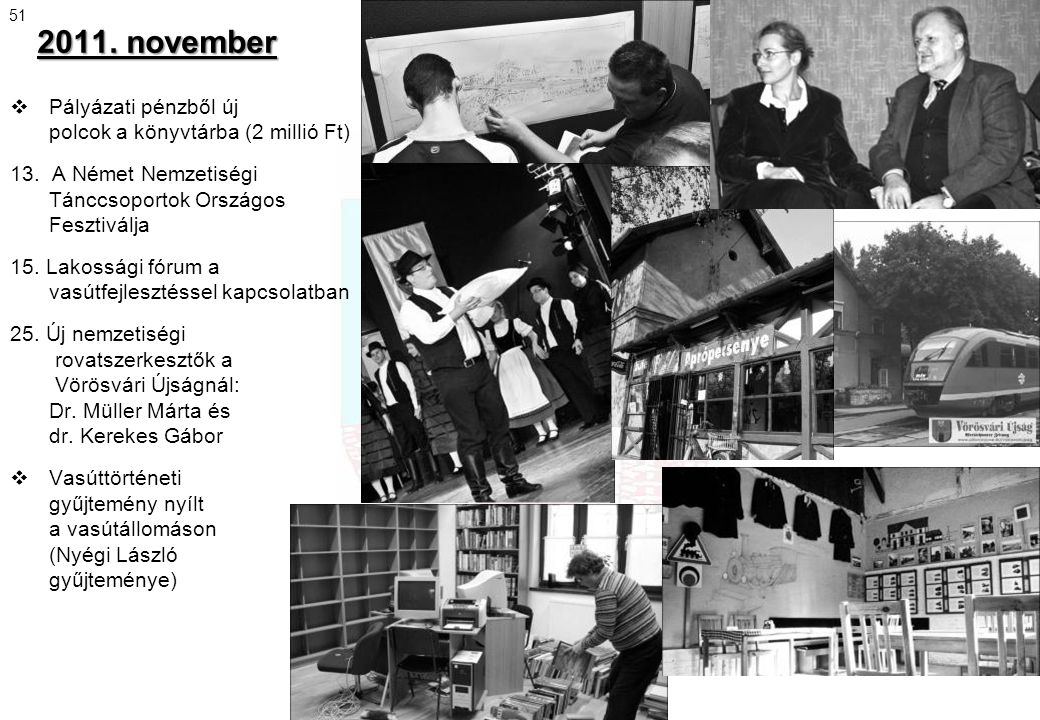 2011. november Pályázati pénzből új polcok a könyvtárba (2 millió Ft)