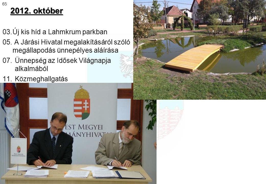 2012. október 65.