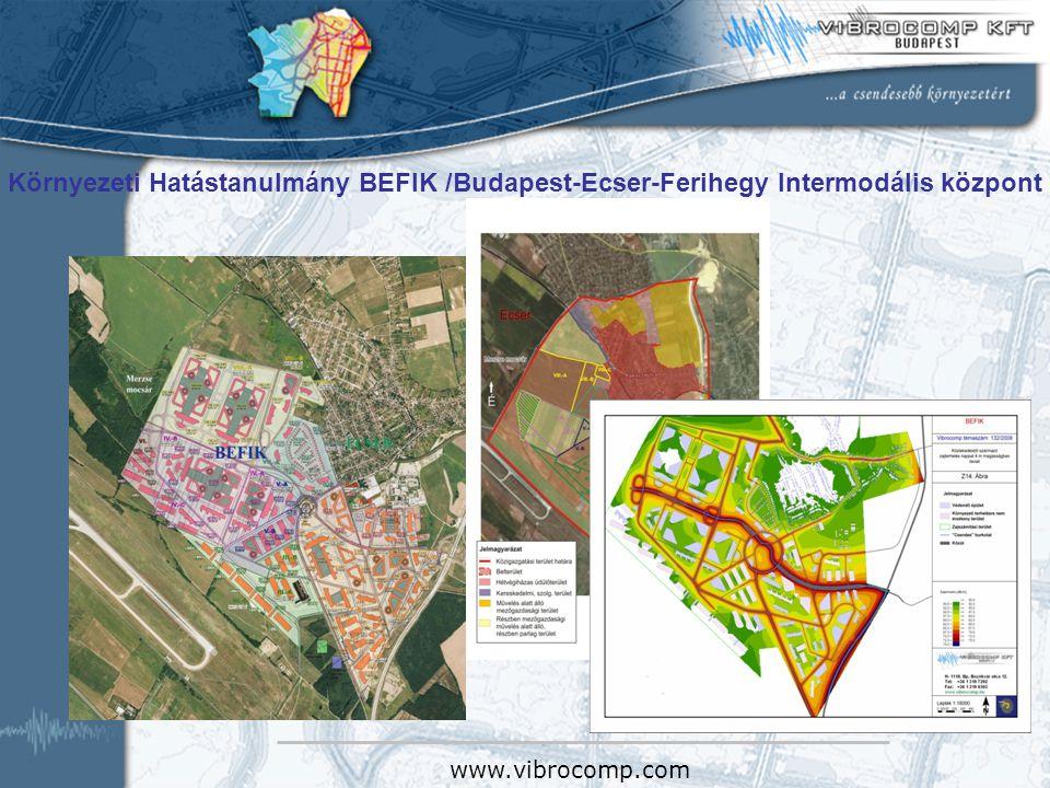 Környezeti Hatástanulmány BEFIK /Budapest-Ecser-Ferihegy Intermodális központ