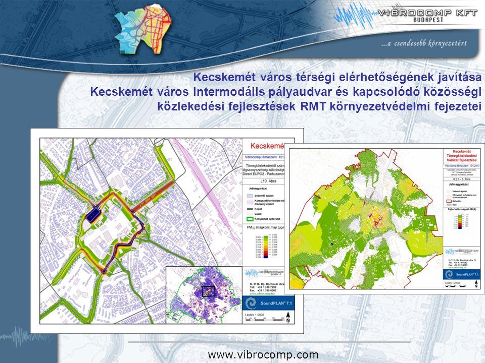 Kecskemét város térségi elérhetőségének javítása