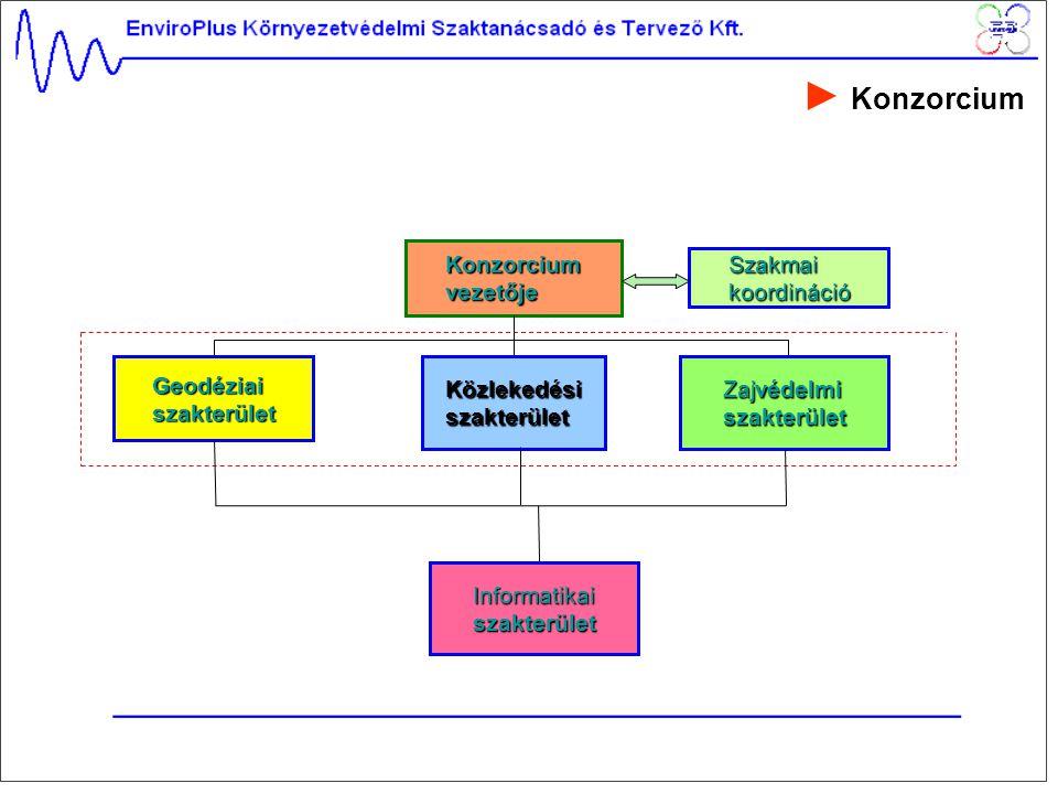 ► Konzorcium Konzorcium vezetője Szakmai koordináció