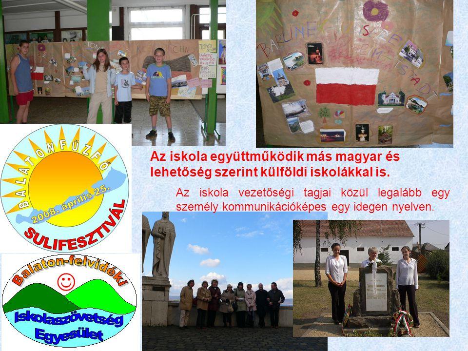 Balaton-felvidéki  Iskolaszövetség Egyesület