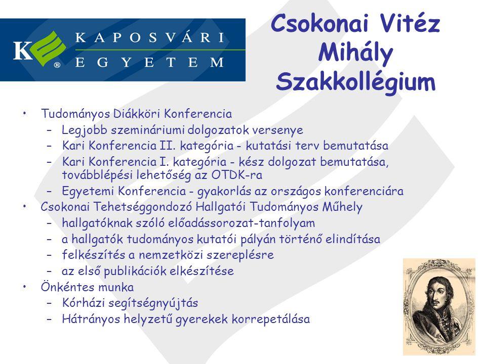 Csokonai Vitéz Mihály Szakkollégium