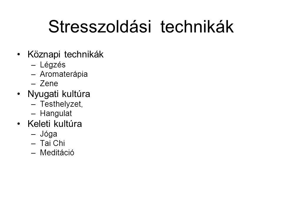 Stresszoldási technikák