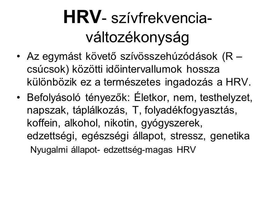 HRV- szívfrekvencia-változékonyság