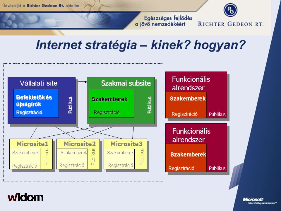 Internet stratégia – kinek hogyan