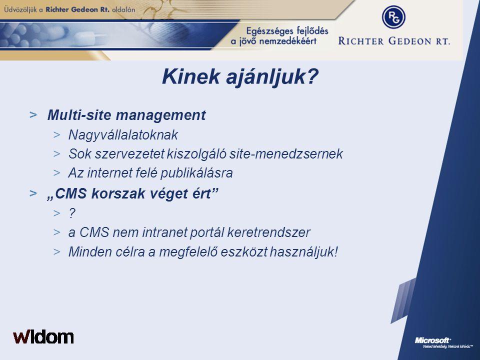 """Kinek ajánljuk Multi-site management """"CMS korszak véget ért"""