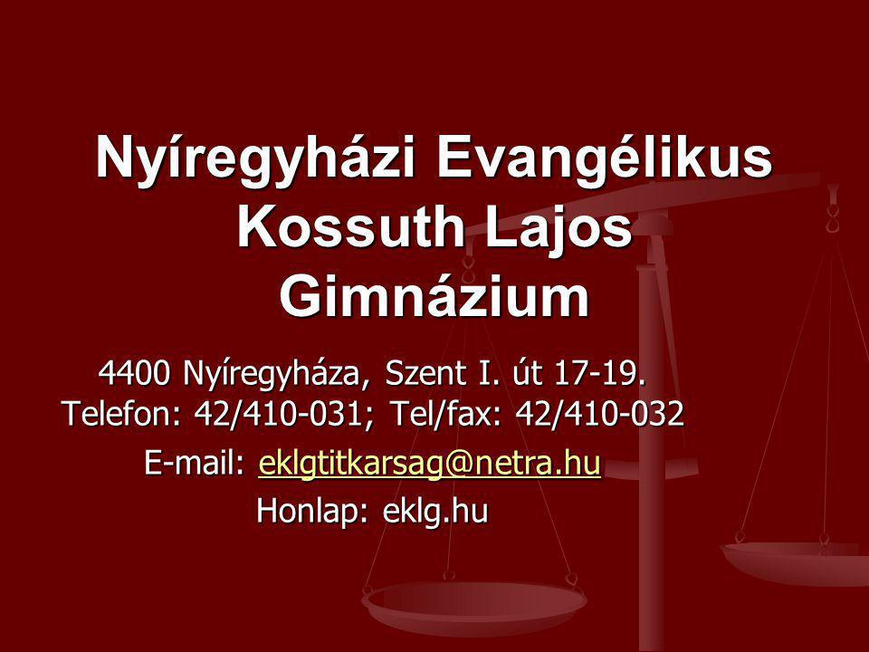 Nyíregyházi Evangélikus Kossuth Lajos Gimnázium