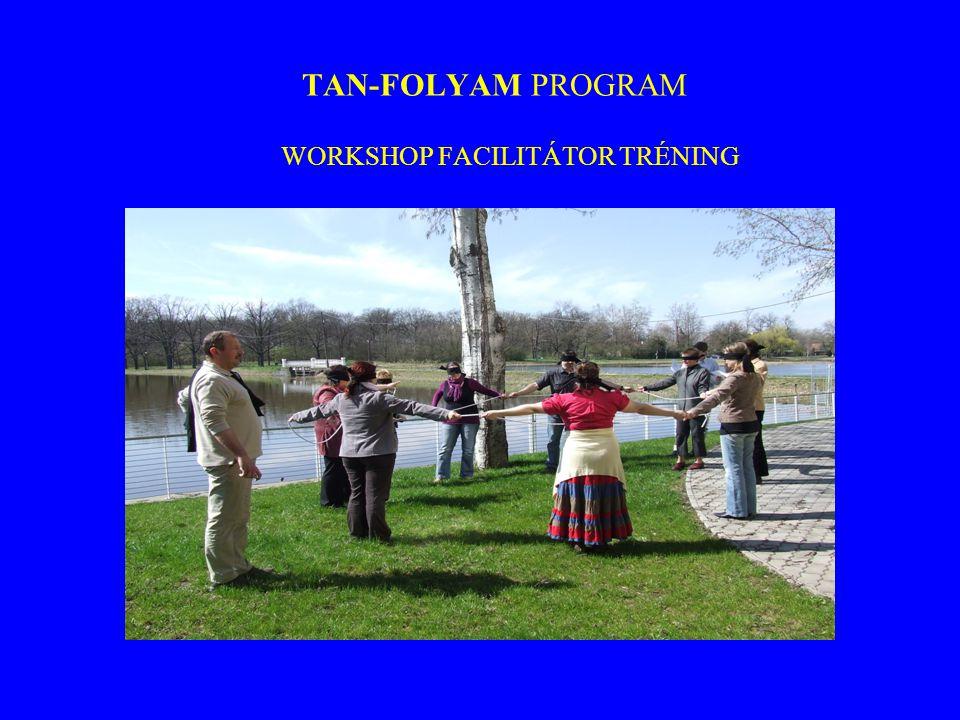 TAN-FOLYAM PROGRAM WORKSHOP FACILITÁTOR TRÉNING