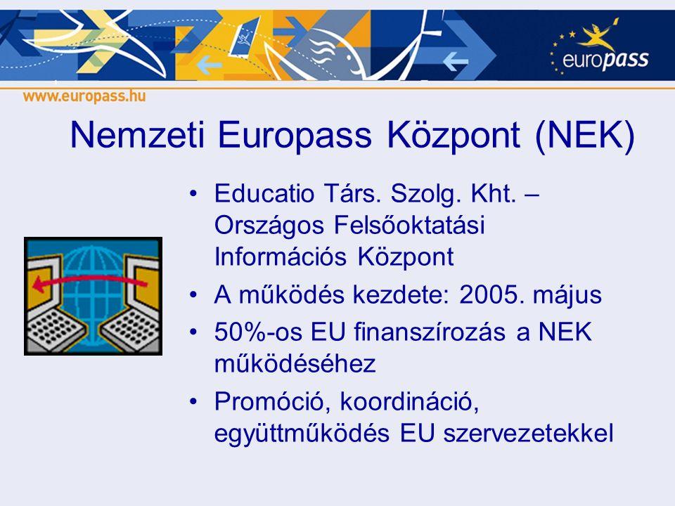 Nemzeti Europass Központ (NEK)