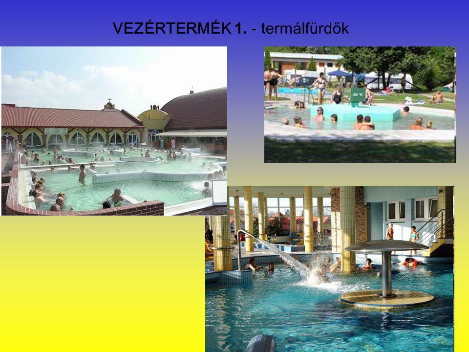VEZÉRTERMÉK 1. - termálfürdők