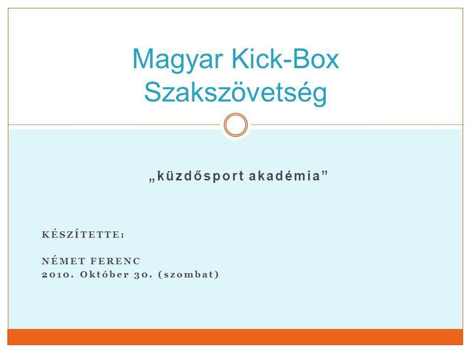 Magyar Kick-Box Szakszövetség