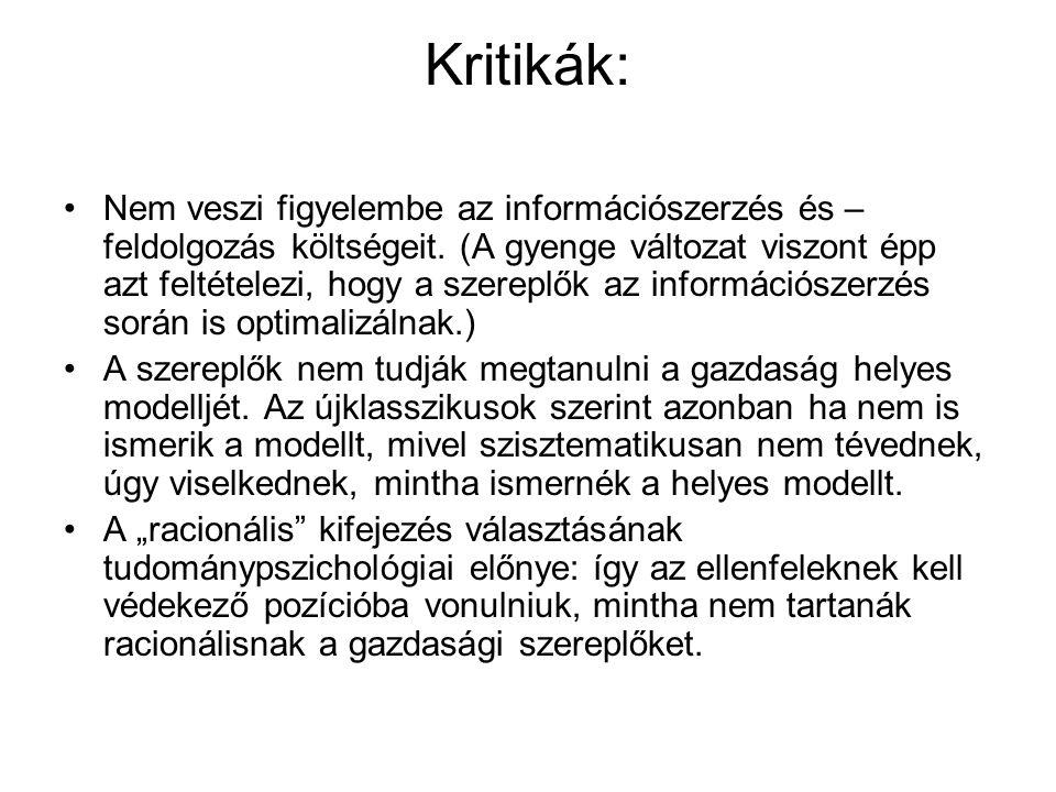 Kritikák: