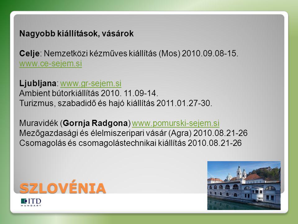 Nagyobb kiállítások, vásárok Celje: Nemzetközi kézműves kiállítás (Mos) 2010.09.08-15.