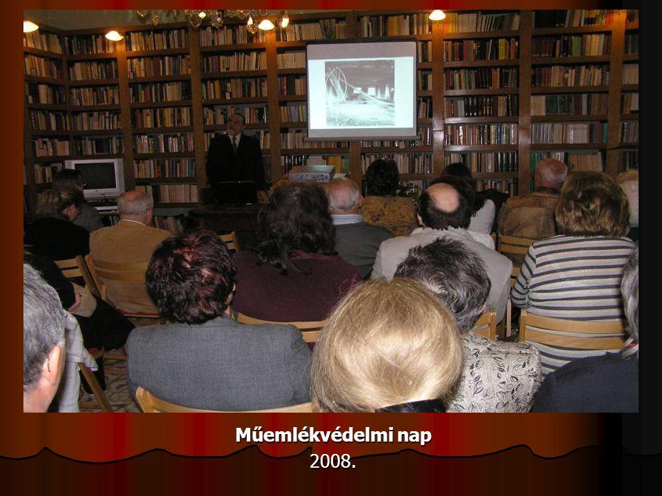 Műemlékvédelmi nap 2008.