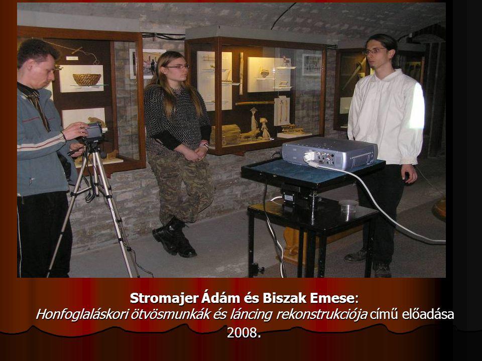 Stromajer Ádám és Biszak Emese: