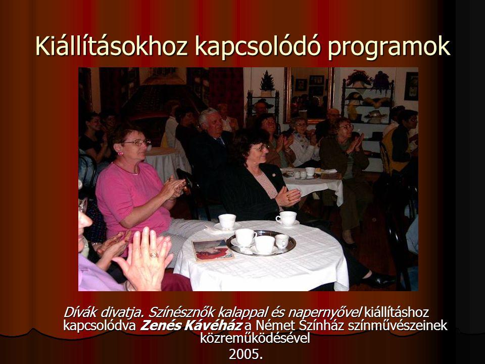 Kiállításokhoz kapcsolódó programok
