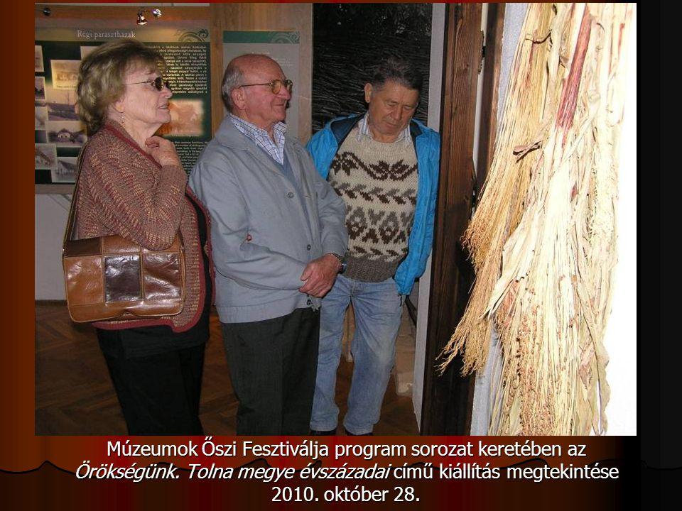Múzeumok Őszi Fesztiválja program sorozat keretében az