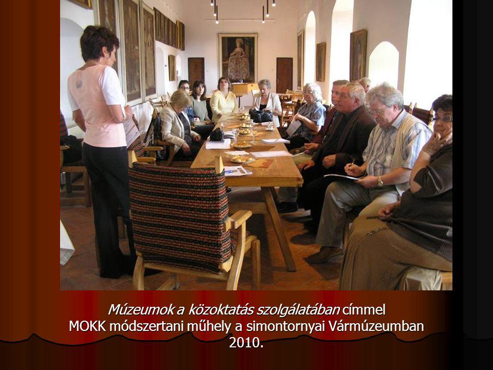 Múzeumok a közoktatás szolgálatában címmel