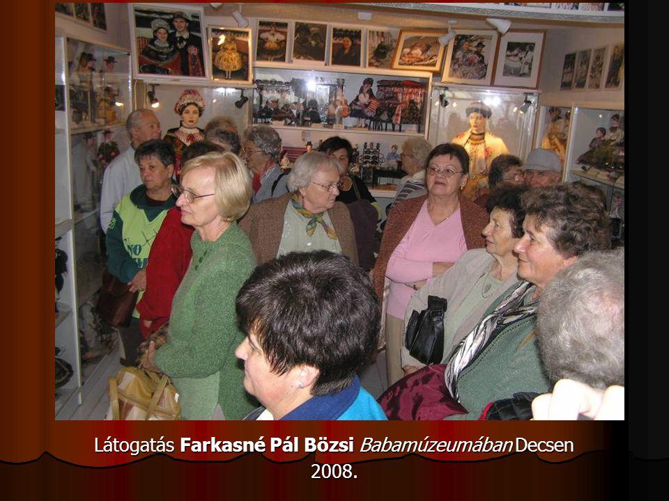 Látogatás Farkasné Pál Bözsi Babamúzeumában Decsen