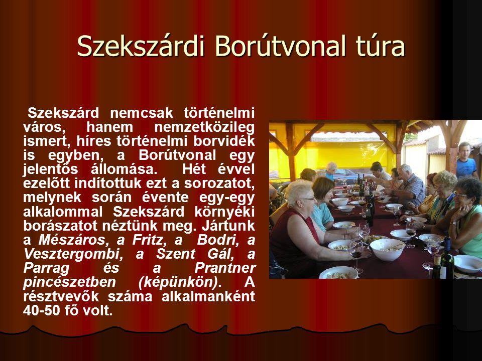 Szekszárdi Borútvonal túra