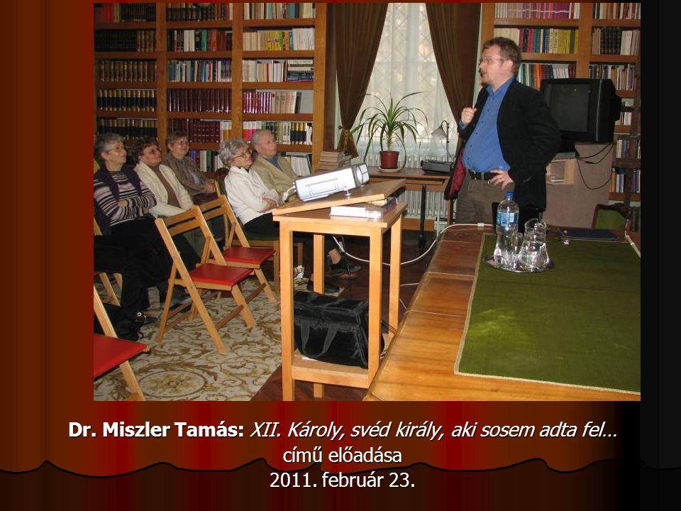 Dr. Miszler Tamás: XII. Károly, svéd király, aki sosem adta fel…