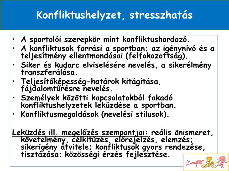 Konfliktushelyzet, stresszhatás