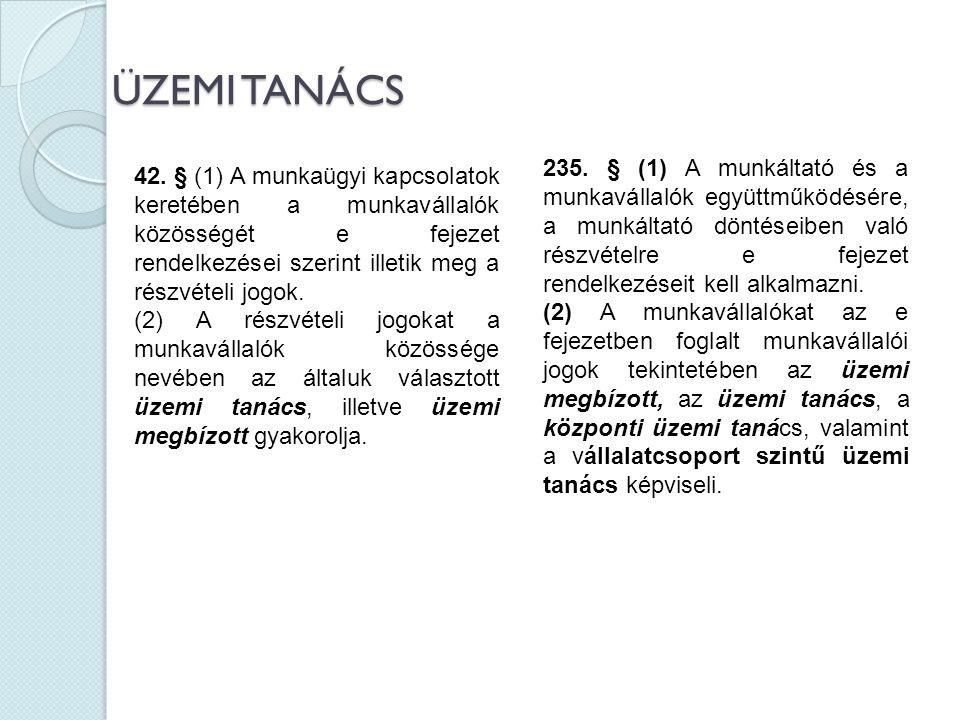ÜZEMI TANÁCS