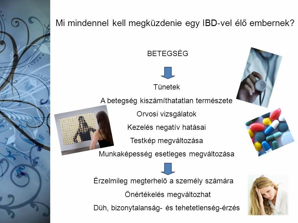 Mi mindennel kell megküzdenie egy IBD-vel élő embernek