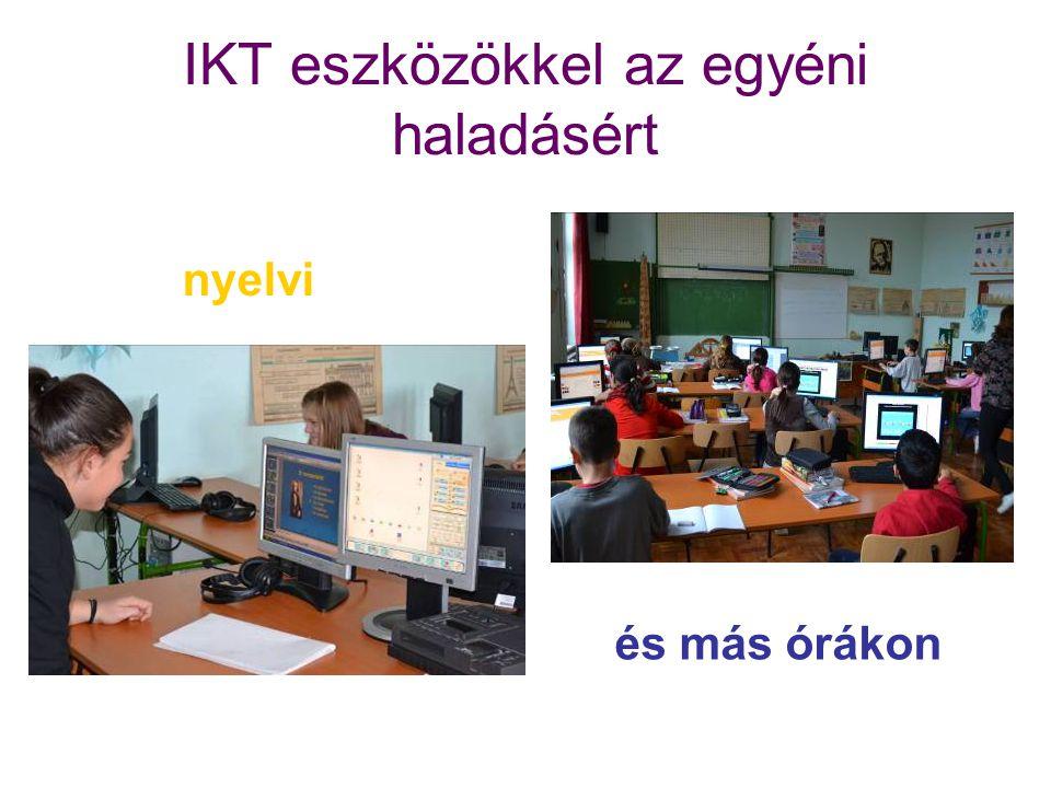 IKT eszközökkel az egyéni haladásért