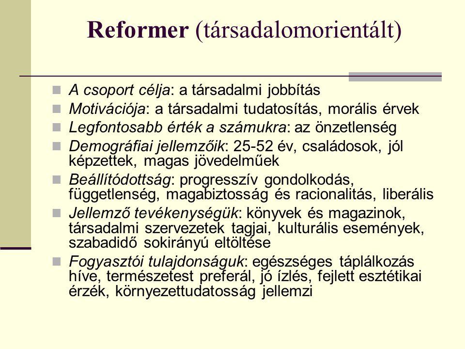 Reformer (társadalomorientált)