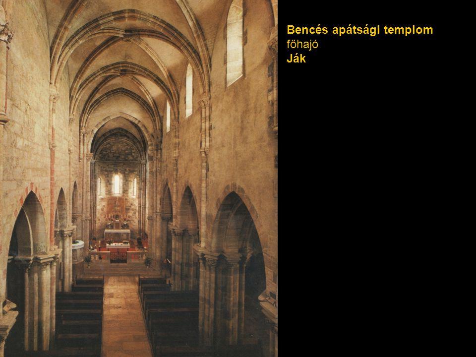 Bencés apátsági templom