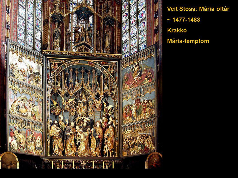 Veit Stoss: Mária oltár