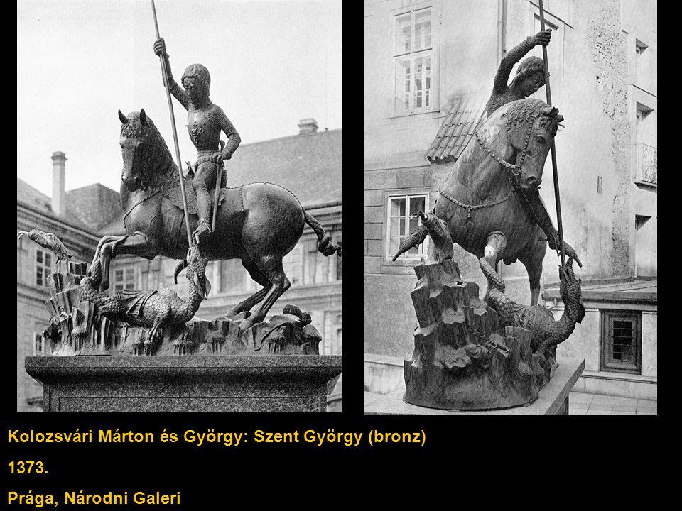 Kolozsvári Márton és György: Szent György (bronz)