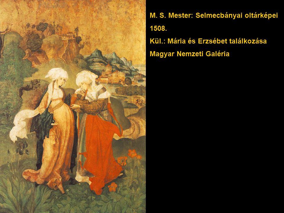 M. S. Mester: Selmecbányai oltárképei