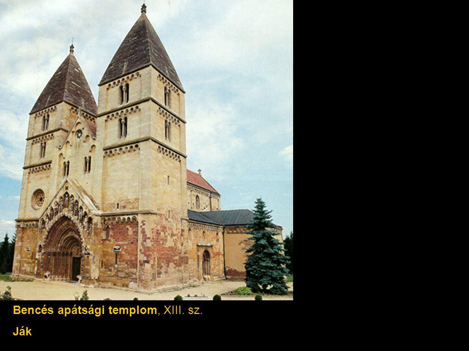 Bencés apátsági templom, XIII. sz.