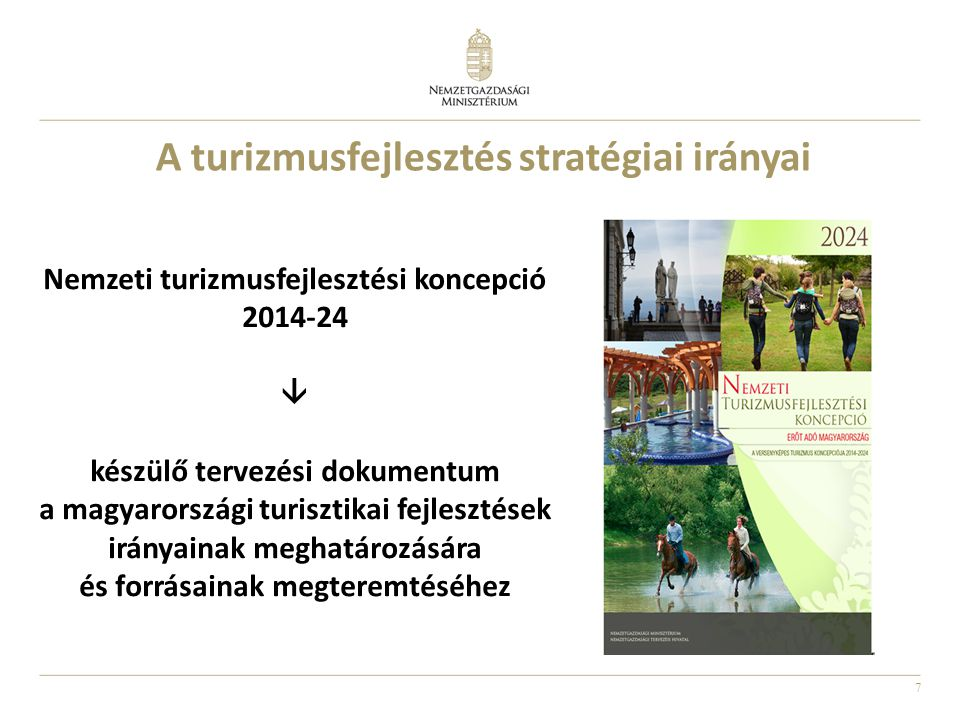 A turizmusfejlesztés stratégiai irányai