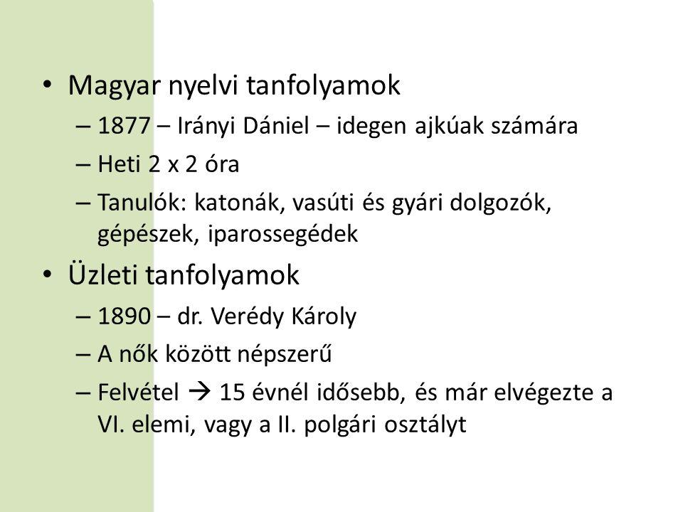 Magyar nyelvi tanfolyamok