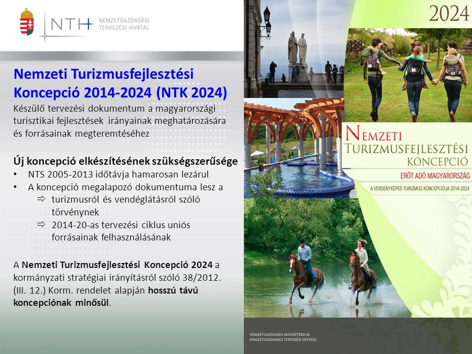 Nemzeti Turizmusfejlesztési Koncepció 2014-2024 (NTK 2024)