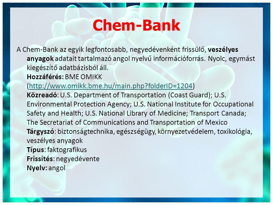 Chem-Bank