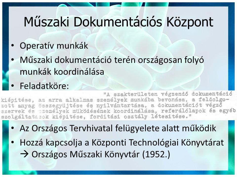 Műszaki Dokumentációs Központ