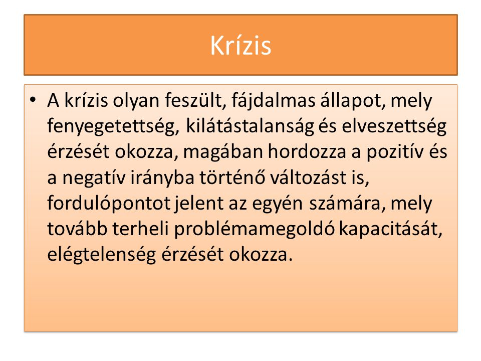 Krízis