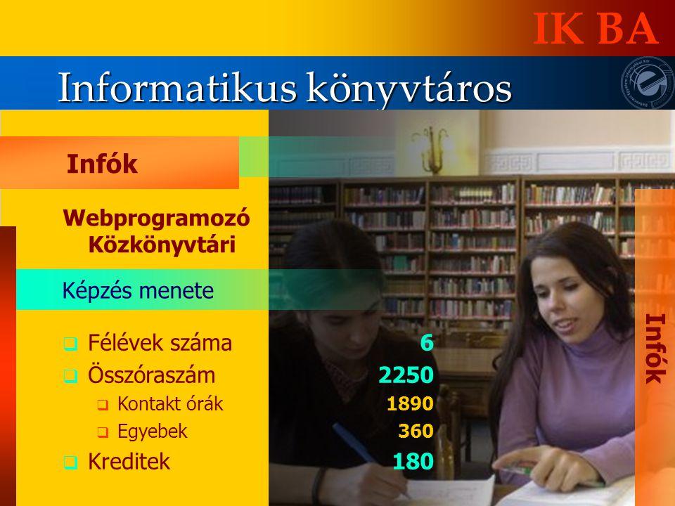 Informatikus könyvtáros