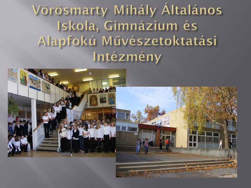 Vörösmarty Mihály Általános Iskola, Gimnázium és Alapfokú Művészetoktatási Intézmény