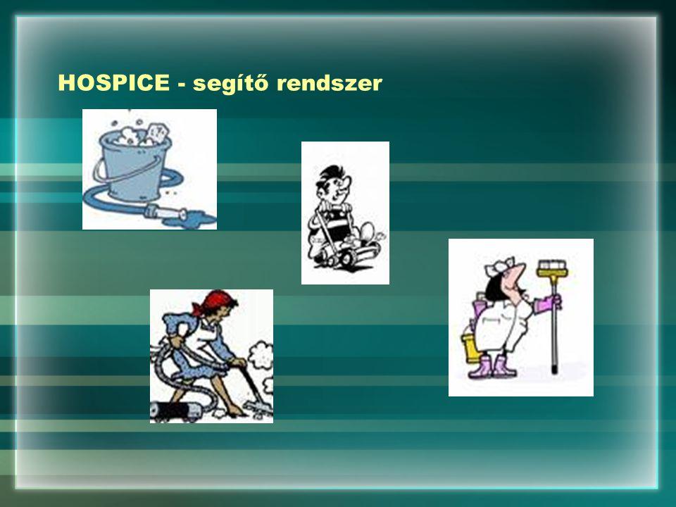 HOSPICE - segítő rendszer