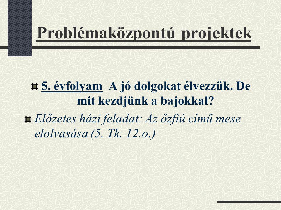 Problémaközpontú projektek