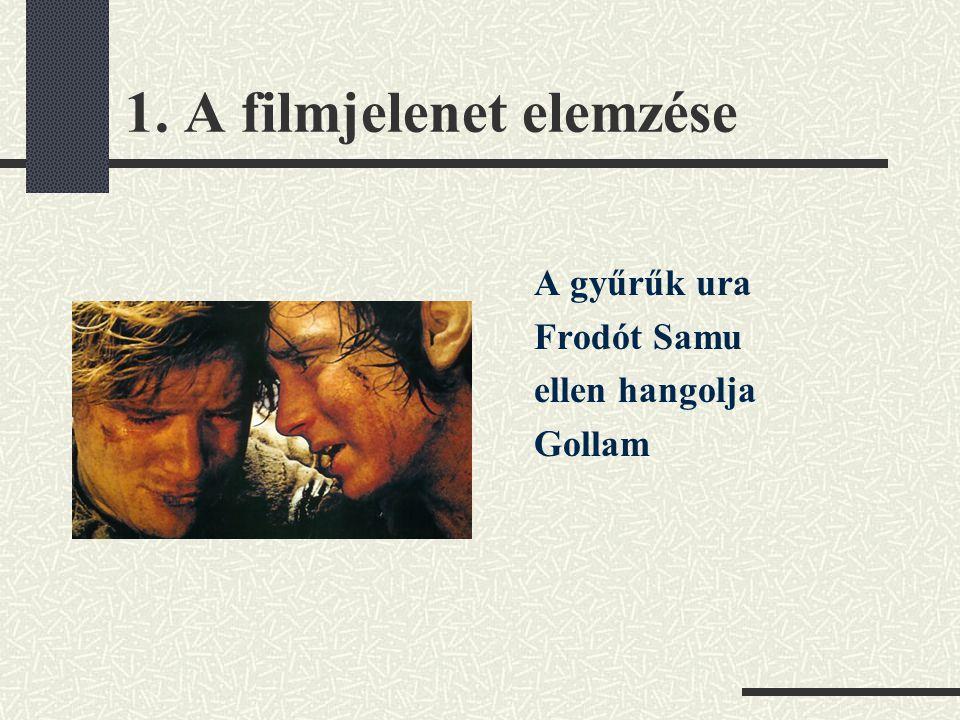 1. A filmjelenet elemzése