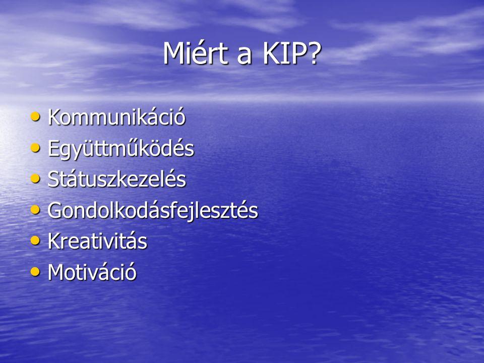 Miért a KIP Kommunikáció Együttműködés Státuszkezelés
