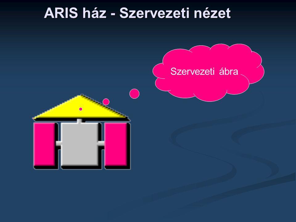 ARIS ház - Szervezeti nézet